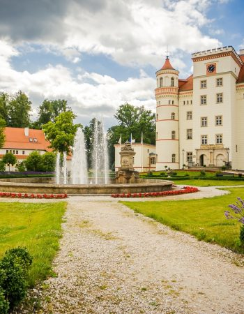 Das Schloss Schildau (Wojanów)
